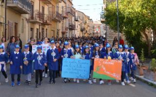 ''Vogliamo restare qui'': il chiaro messaggio del corteo degli studenti delle Madonie