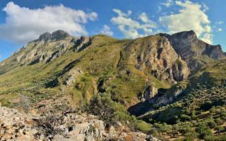 Le pendici di Monte San Calogero