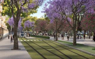 Tre nuove linee del tram per Palermo
