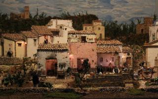 Presepe delle Arti, dei Mestieri e delle Tradizioni Siciliane in Miniatura