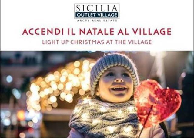 Accendi il Natale al Sicilia Outlet Village
