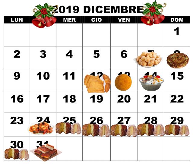 Si comincia! Calendario gastronomico siciliano: tra feste e abbuffate