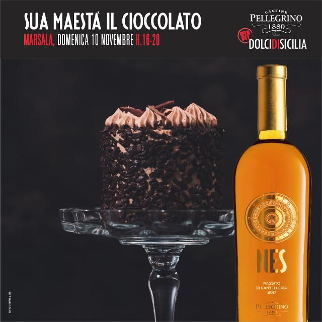 Cantine Pellegrino festeggia San Martino con Sua Maestà il Cioccolato
