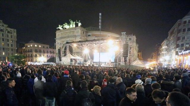 Concerto di Capodanno a piazza Castelnuovo