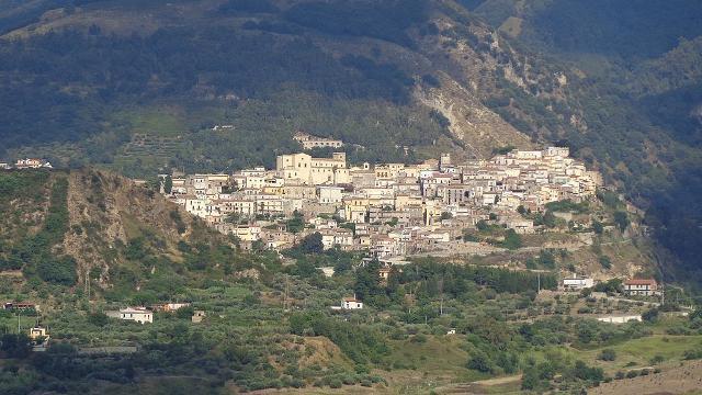 Veduta di Castroreale da Monte Ciappa - ph Effems