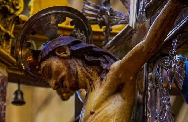 Crocifisso della chiesa di Montemaggiore Belsito