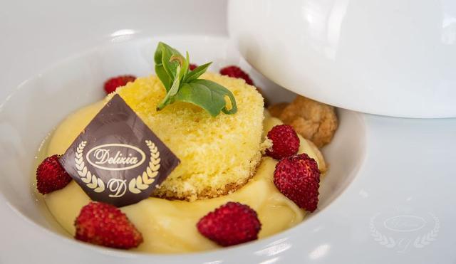 Un dolce al piatto del Caffè Delizia - Bolognetta (PA)