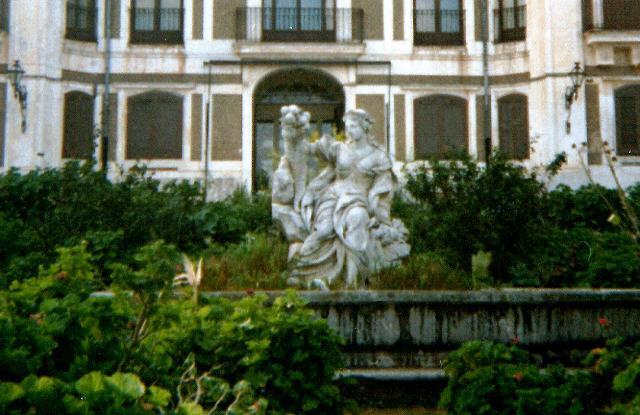 La fontana dell'Abbondanza del Marabitti