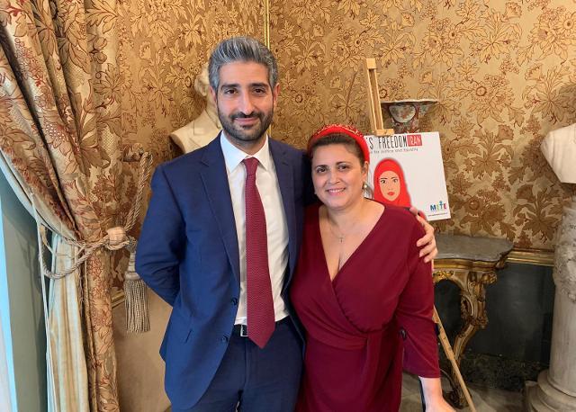 Francesco Leone e Giorgia Butera