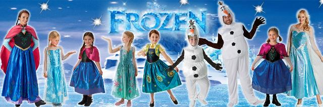 I costumi Rubie's di Frozen