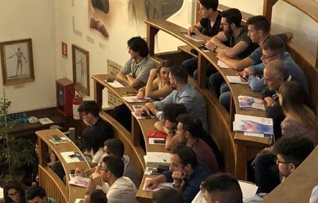 Aula dell'Istituto di Anatomia Umana e Istologia del Policlinico di Palermo