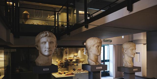 La statuaria del Museo Archeologico regionale di Centuripe - ph Davide Mauro