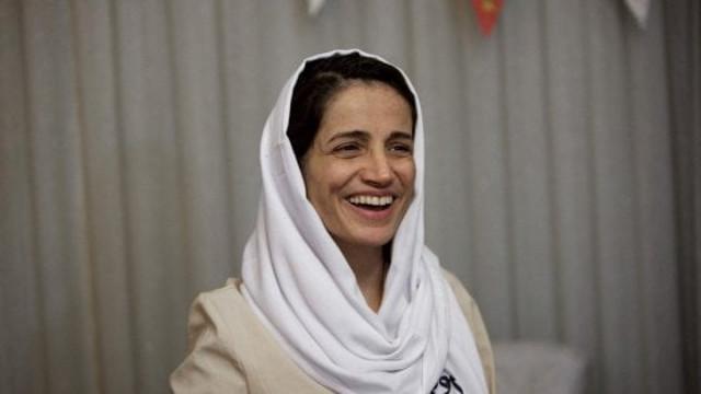 L'avvocato e attivista iraniana Nasrin Sotoudeh è cittadina di Palermo