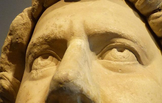 Statua dell'Imperatore Adriano trovata a Centuripe (part) - ph GabrielleMerk