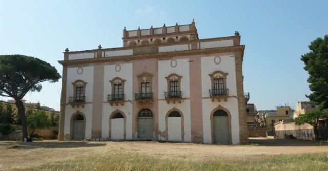 Il retro di Villa Cutò