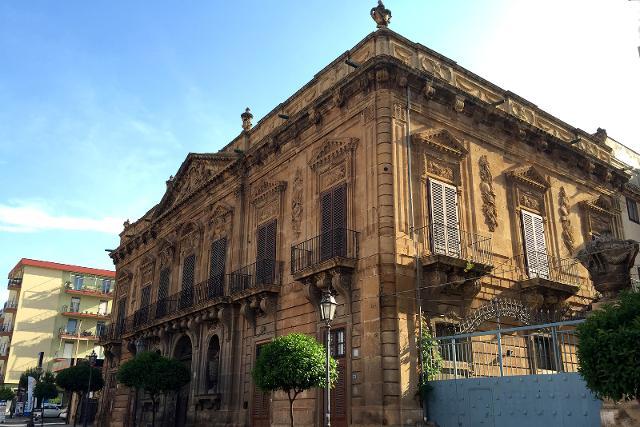 Villa Galletti Inguaggiato da tutti i bagheresi chiamato Palazzo Inguaggiato