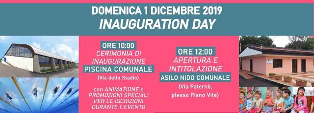 Domenica per Ragalna è l'Inauguration Day!