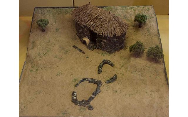 Ricostruzione del villaggio protostorico di Viale dei Cipressi - ph Davide Mauro