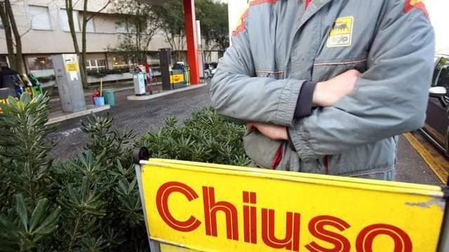Sciopero dei benzinai da giorno 6 a giorno 8 novembre