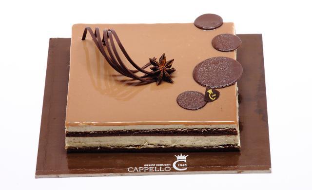 """Torta """"Arabica"""", Pasticceria Cappello - Palermo"""