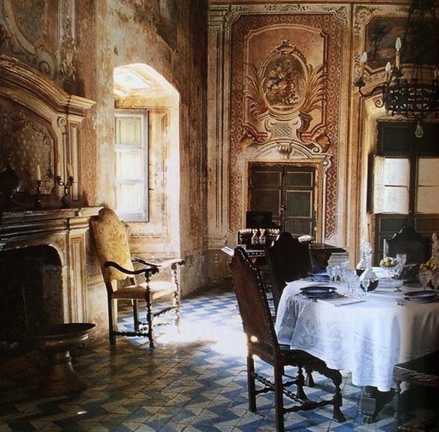 Interno di Villa Spedalotto