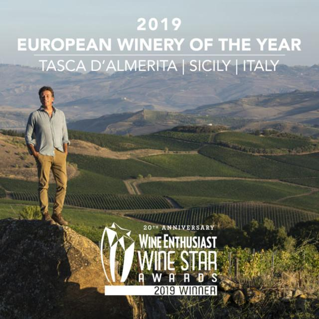 European Winery of the Year Tasca d'Almerita