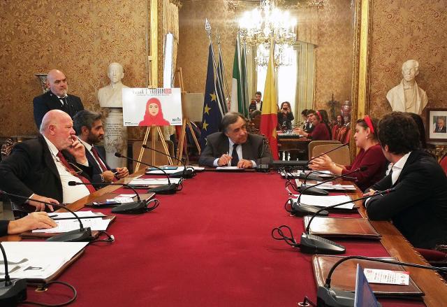 Presentazione di Woman's Freedom Iran a Palazzo delle Aquile