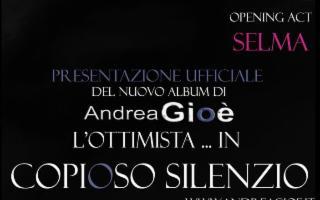 """Andrea Gioè in """"L'Ottimista! ...in copioso silenzio"""""""