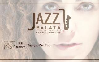 Per Balata Jazz, lunedì musicale con il Giorgia Meli Trio