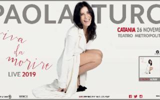 """Paola Turci in """"Viva da Morire Tour"""""""