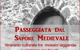 Passeggiata nell'antico borgo medioevale di Nunziata