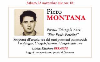 Recital di poesia al Centro d'arte e cultura Piero Montana