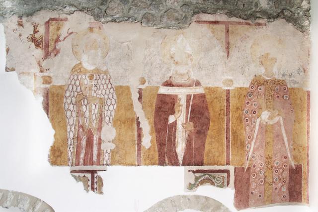 Affreschi dell'Abbazia di Santa Croce - ph Citarrella Pietro Antonio