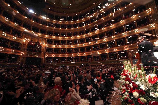Concerto di Capodanno al Teatro Massimo di Palermo