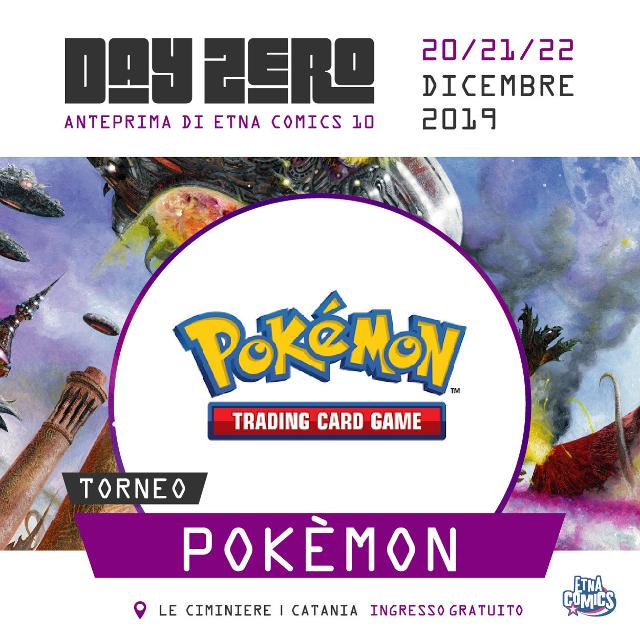 Torneo Pokèmon - Etna Comics Day Zero