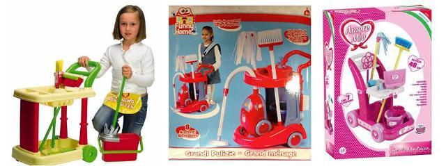 Ancora oggi la maggior parte dei giocattoli per bambini è fortemente marcata da paradigmi sociali pregressi...