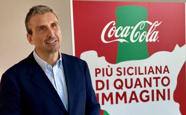 Luca Busi, amministratore delegato della Sibeg Coca-Cola di Catania