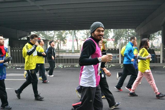 Luca Naso a Pechino nel 2012