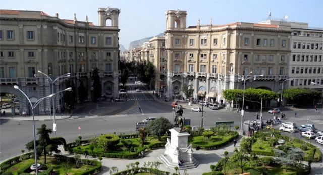 Piazza Giulio Cesare, Palermo