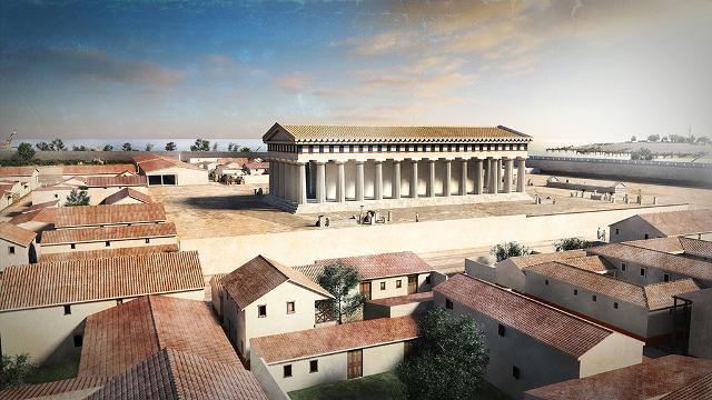 Ecco come doveva apparire Himera e il suo Tempio della Vittoria