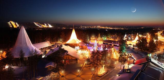 Il Villaggio di Babbo Natale a Rovaniemi, in Lapponia