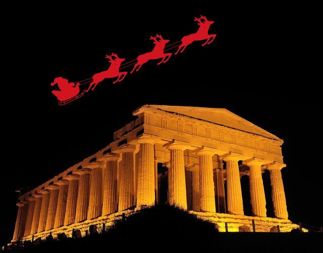 Vacanze natalizie spettacolari nella Valle templi!