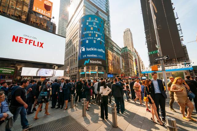 Stesso discorso se si sceglie l'altra costa degli USA, con New York in testa alla classifica delle mete dei sogni...