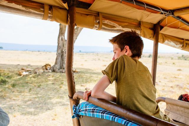 Il Sudafrica è il paese ideale per fare indimenticabili safari nella savana con pernottamento sotto le stelle...