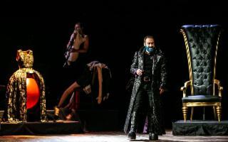 Un emozionante Mario Incudine in ''Barbablu''