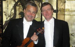 Melodica - Il violinista Glauco Bertagnin e il pianista Simone Pagani