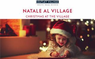 La magia del Natale continua a Sicilia Outlet Village