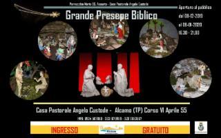 """Il """"Grande Presepe Biblico"""" di Alcamo"""