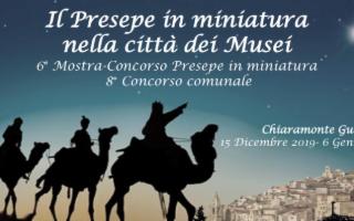Mostra Concorso ''Il Presepe in Miniatura nella città dei Musei''