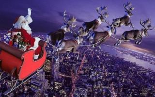 A che punto è il viaggio di Babbo Natale?